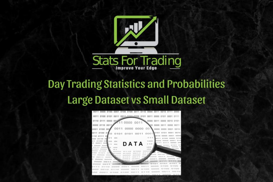 Day Trading Statistics - Large Dataset vs Small Dataset